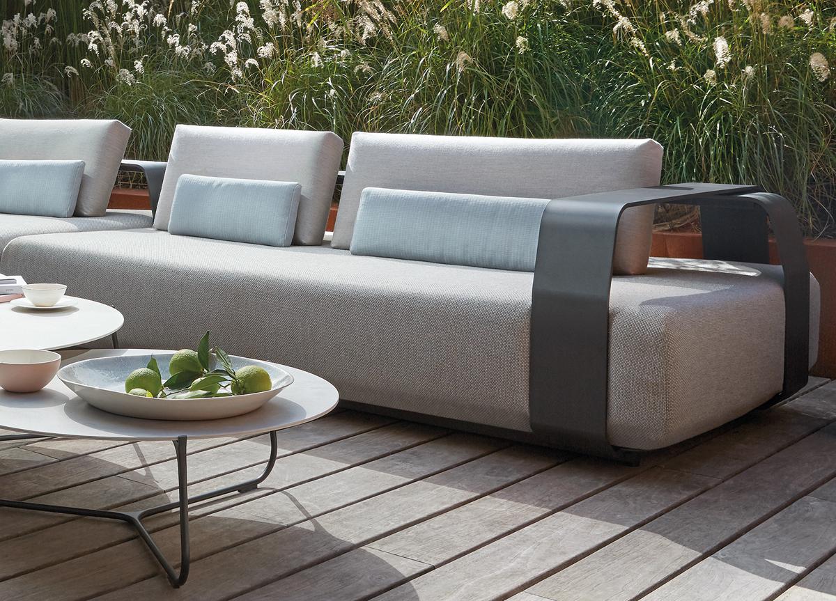 Manutti Kuomo 2 Seater Sofa Aluminum Frames Outdoor Indoor ...