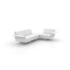 3300-4000c_Vondom_Flat_Modern_3_Seater_Sofa