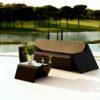 Modern Resin Plastic Rest 3 Seater Sofa