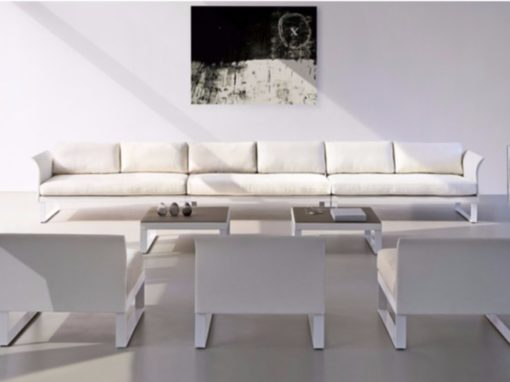 aluminum modular sectional sofa