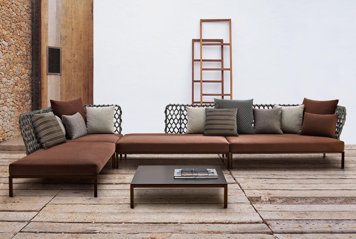 B b italia ravel modular sofa couture outdoor for Divani b b