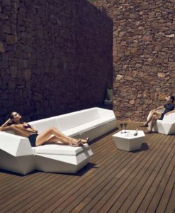 Modern Plastic Resin Faz Modular Sofa