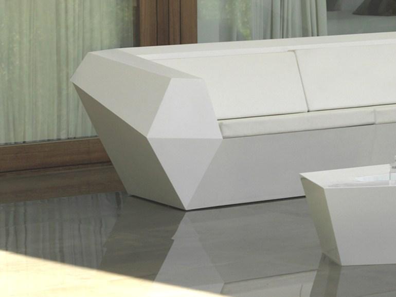 Modern Plastic Resin Faz Modular Sofa Contract Hospitality