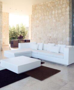 Modern Vondom LED Light Modular Sofa
