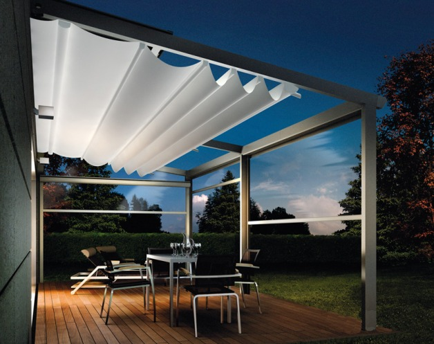 Pergola Retractable Shade Couture Outdoor