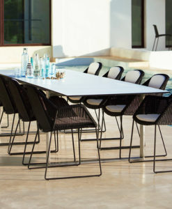 cane-line edge extendable dining table