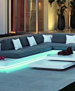 modern sectional Platform Sofa with sleek lines and amazing angles make for a great statement.