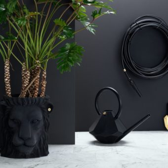 black hose modern luxury