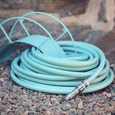 turquoise hose wall mount