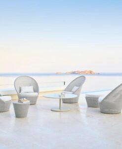 Kingston Swivel Club Chair by Cane-line