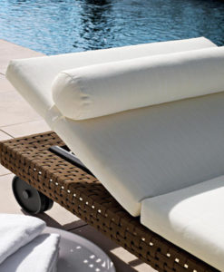 "The Charles sofa system by BB Italia is being introduced in an outdoor version: Charles Outdoor. Characteristics that made it a classic of pure contemporary taste have been left unchanged. The system will have the same slim frame, flexibility and signature design of the inverted ""L"" shape aluminium foot."