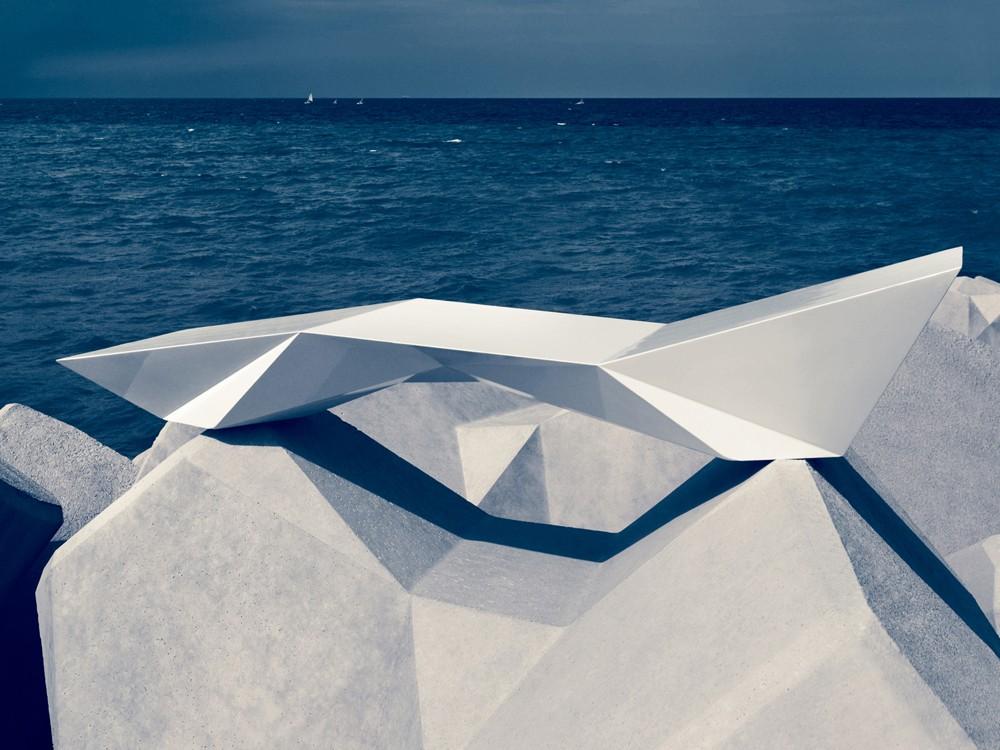 poolside Faz Black front Brown Beach White Chaise Lounger Modern QCtshrxBd