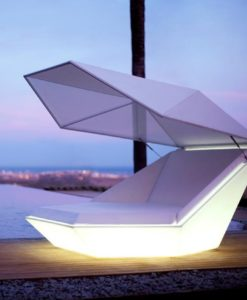 Modern Illuminating Reclined Vondom Faz Daybed