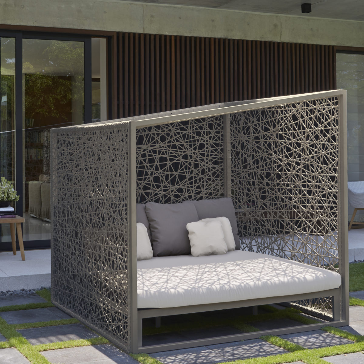 Skyline Geometric Daybed Couture Outdoor