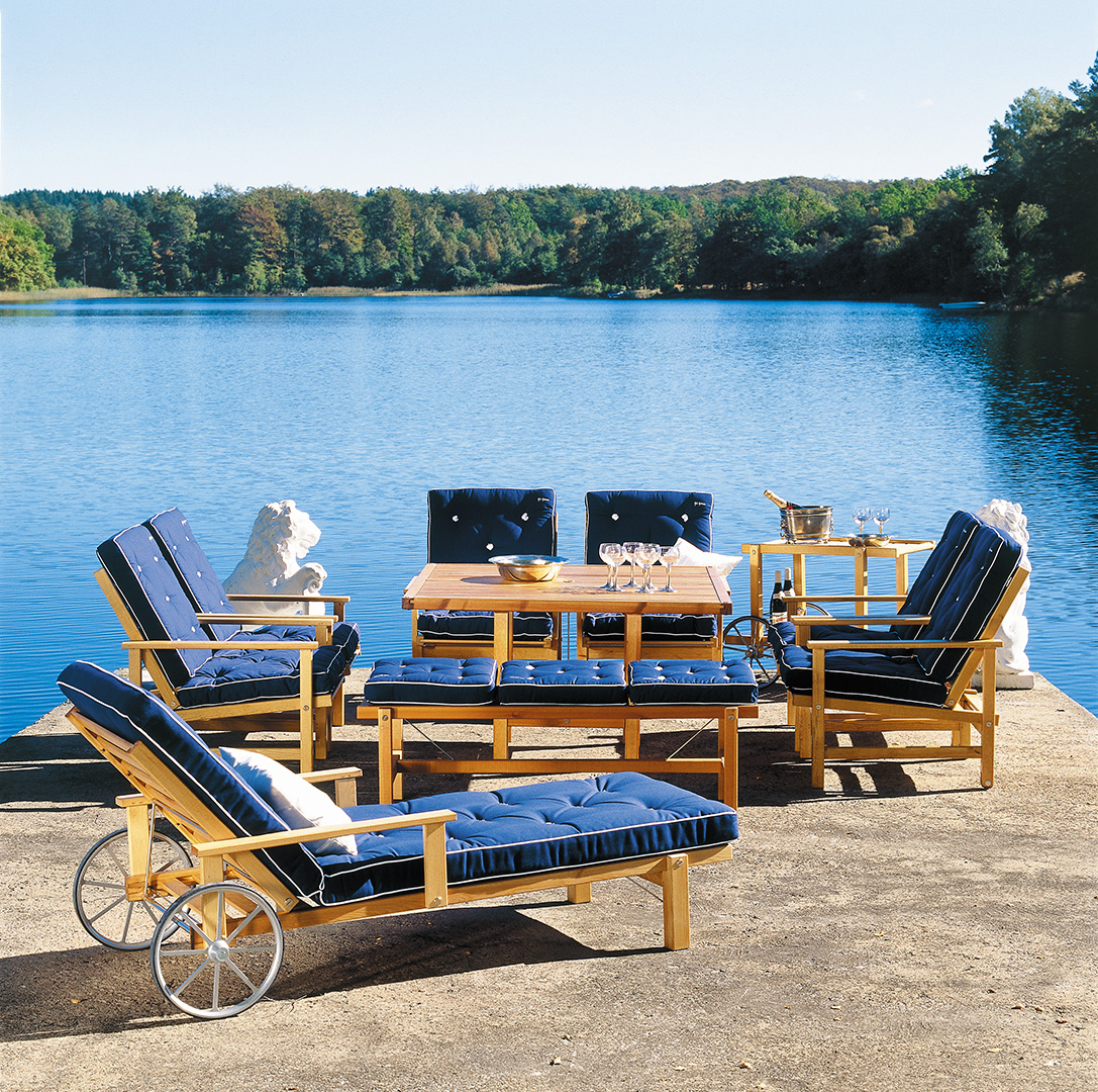 Axel Classic Chaise Lounger Collection Couture Outdoor