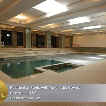 Indoor Automatic Pool Cover Covertech