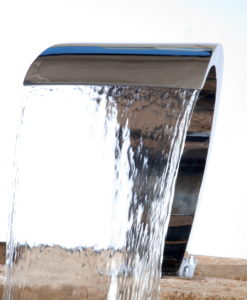 Stainless Steel Pool Fountain
