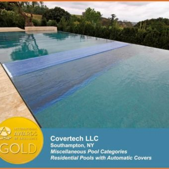 Automatic Floor System Residential Pool Cover