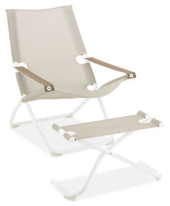designer buddha folding beach chair