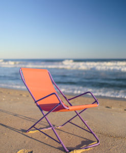 rocking beach chair