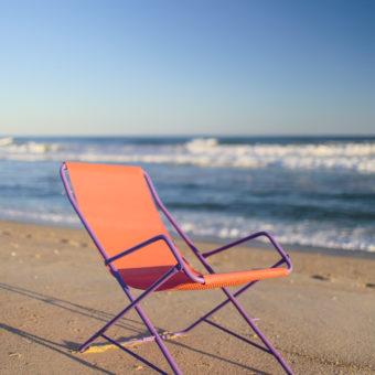 rocking beach chair