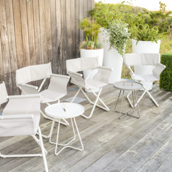 Modern Outdoor Director Chairs