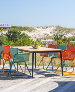 Beach Director Chair Modern Dining