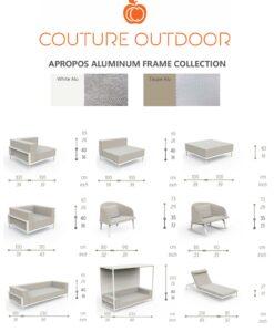Apropos Aluminum dimensions