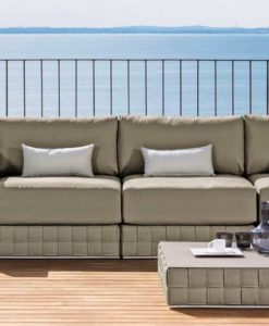 Baron sectional modular sofa is bold and strikingly different it is a must have.