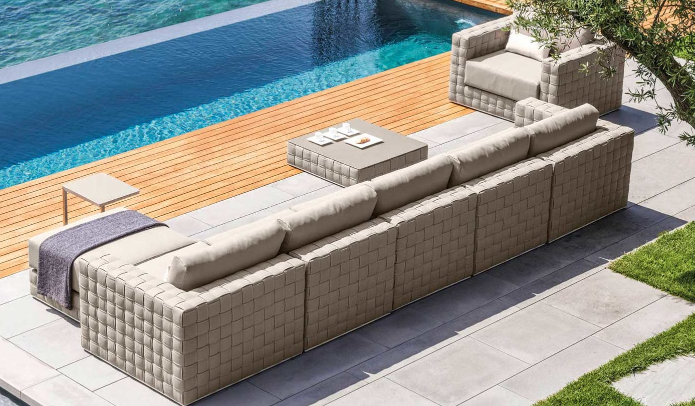Baron Sectional Modular Sofa Couture Outdoor
