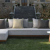 apropos teak luxury sectional sofa