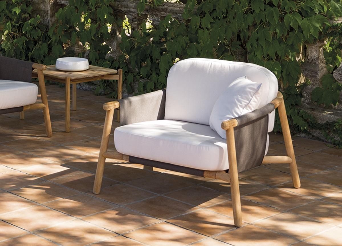 Zian Club Chair Couture Outdoor