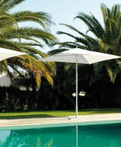 abir umbrella 6 ft market center pole freestanding patio square european white black pool contract hospitality 2