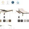 Estellar Chaise Options and Fabrics