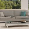 Modern Aluminum Stainless Steel Coffee Table