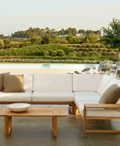 Amagansett Teak Sectional Sofa