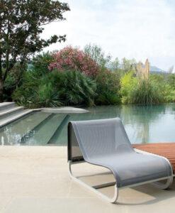 Luxury Modular Custom club chair garden furniture Teak Corian Modular side tables seat sofa set up luxury modern unique fun