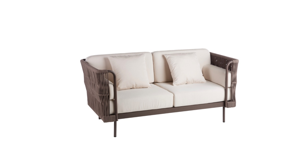 Rope 2 Seater Sofa Couture Outdoor