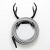 Color Garden Hose Grey Antler Hook