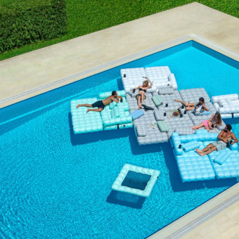 Floating Oasis Inflatable Pool Furniture
