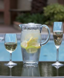 Outdoor Luxury Stemware