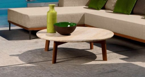 Apropos Teak Coffee and Side Tables