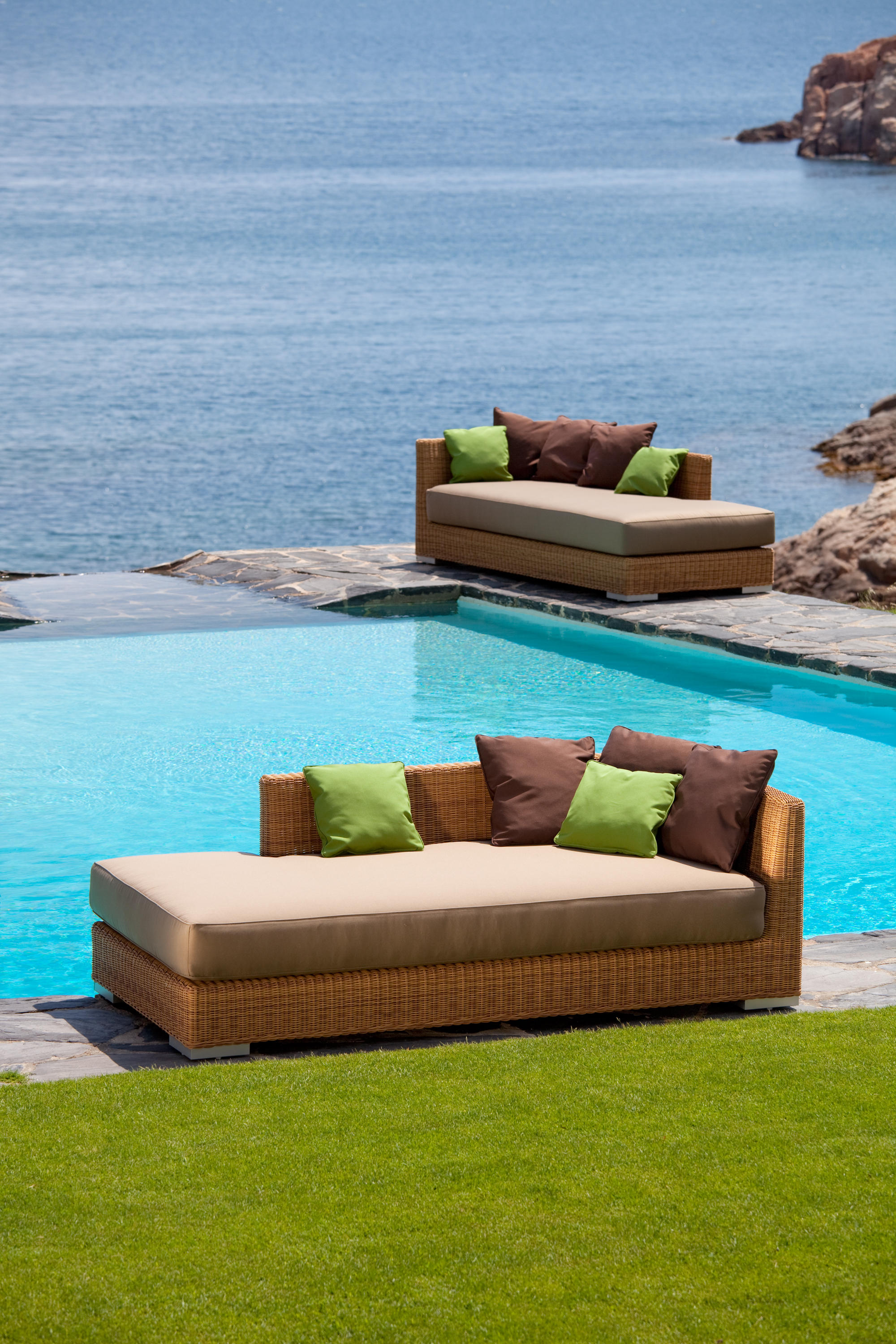 Zargos Daybed Couture Outdoor