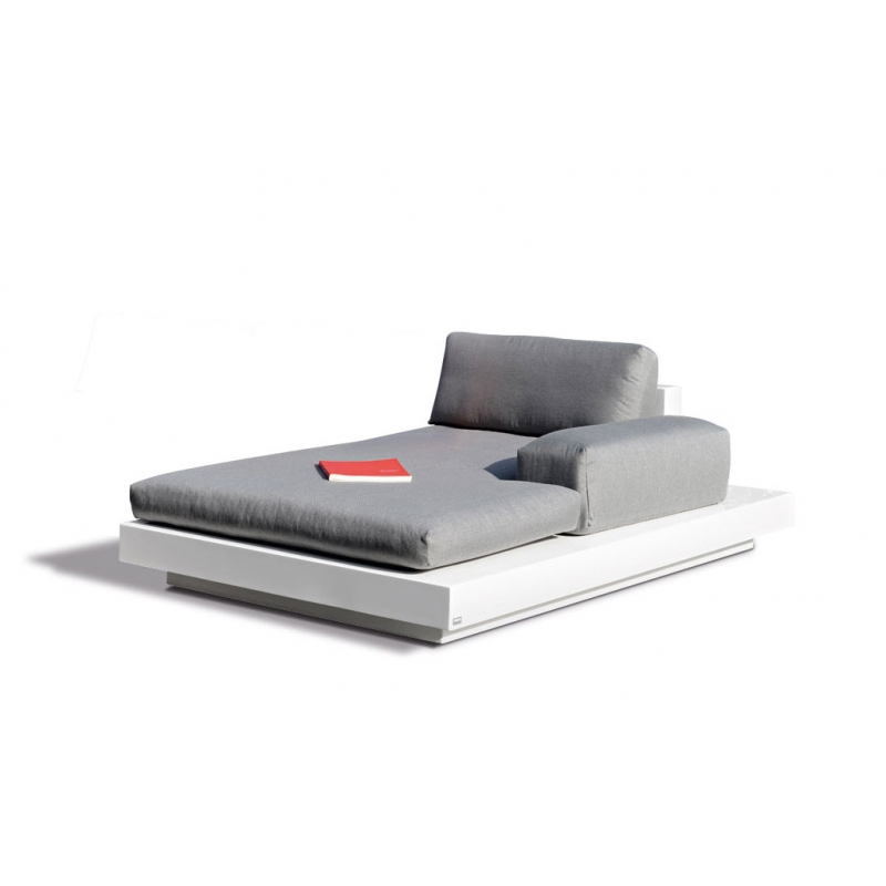 Air Platform Daybed Chaise Lounge LED lights by Rausch - Couture Outdoor
