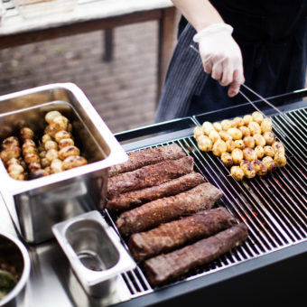 Gas or Charcoal Modular Grills