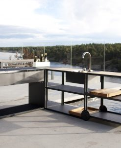Modular Modern Outdoor Kitchen