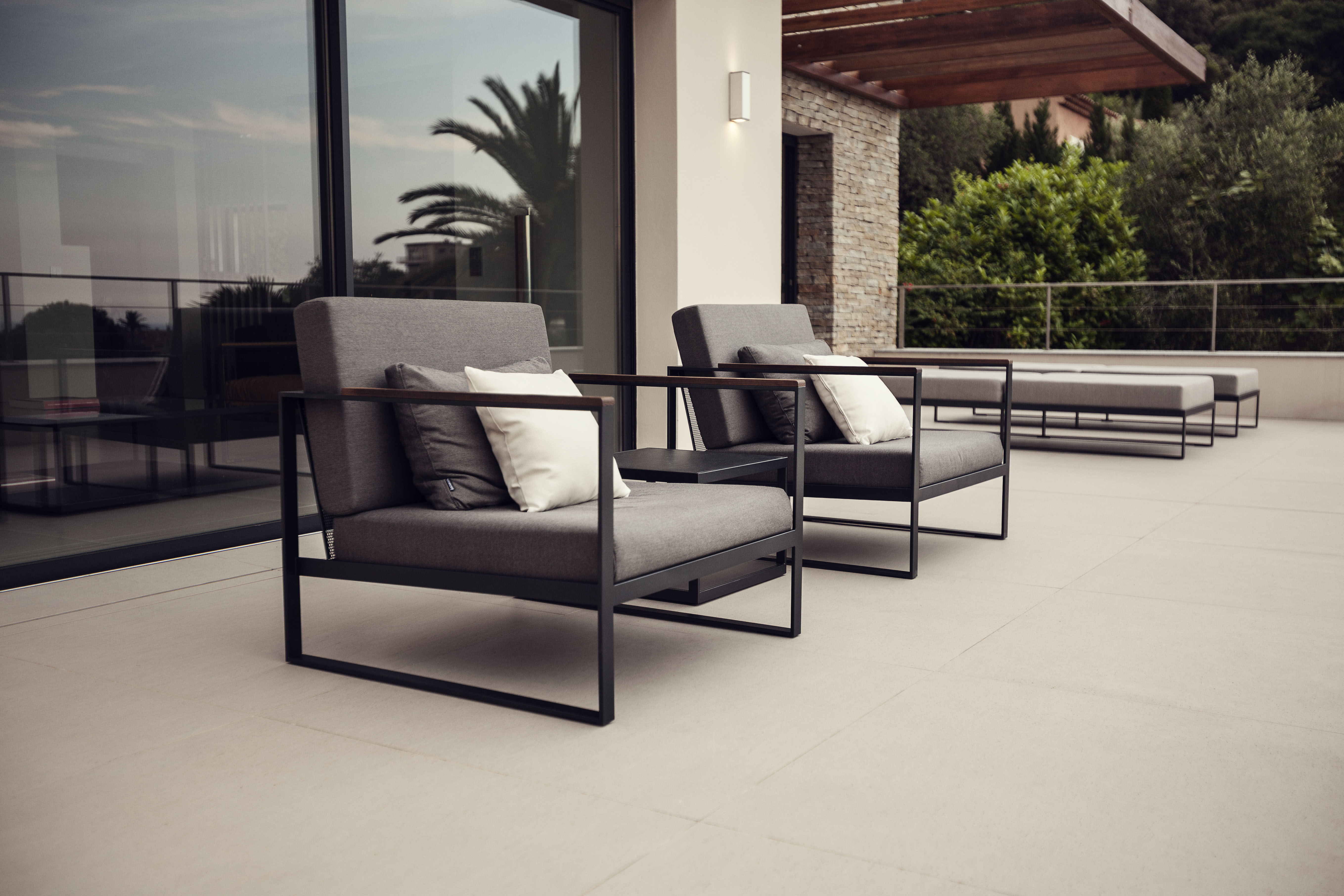Garden Ease Lounge Club Chair Stock Couture Outdoor