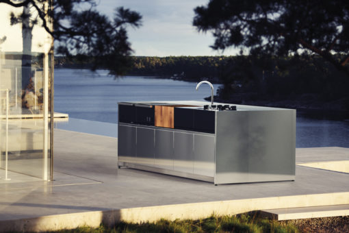 Luxury Modular Outdoor kitchen Modern Grill