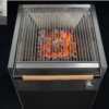 Garden Ease Modern Charcoal Grill Sonic Boom bass speaker charcoal grill temperature luxury custom outdoor kitchen