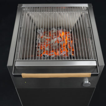 Sonic Boom bass speaker charcoal grill temperature luxury custom outdoor kitchen 2